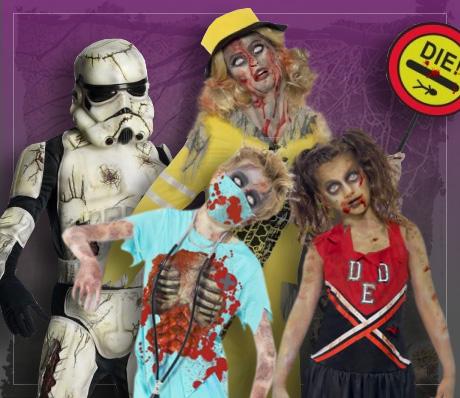 Déguisements de Zombie