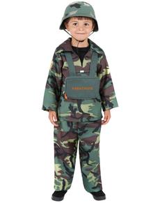 Déguisement de camouflage de l'armée pour garçon