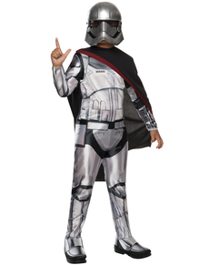 Costume Capitaine Phasma Star Wars Épisode 7 fille