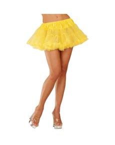 Tutu jaune fluo femme