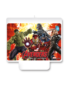 Bougie Happy Birthday Avengers : L'ère d'Ultron