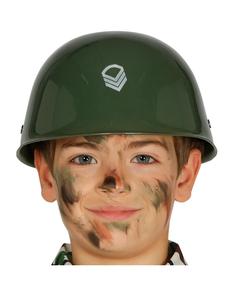 Casque militaire enfant
