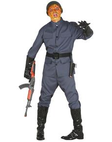 Déguisement soldat zombie homme