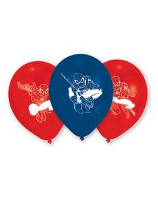 Set de 6 Ballons Spiderman