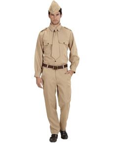 Déguisement soldat de la 2º Guerre Mondiale homme